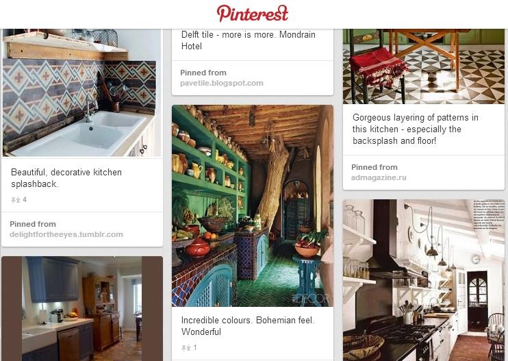 Reclaimed Tile Company Pinterest Board
