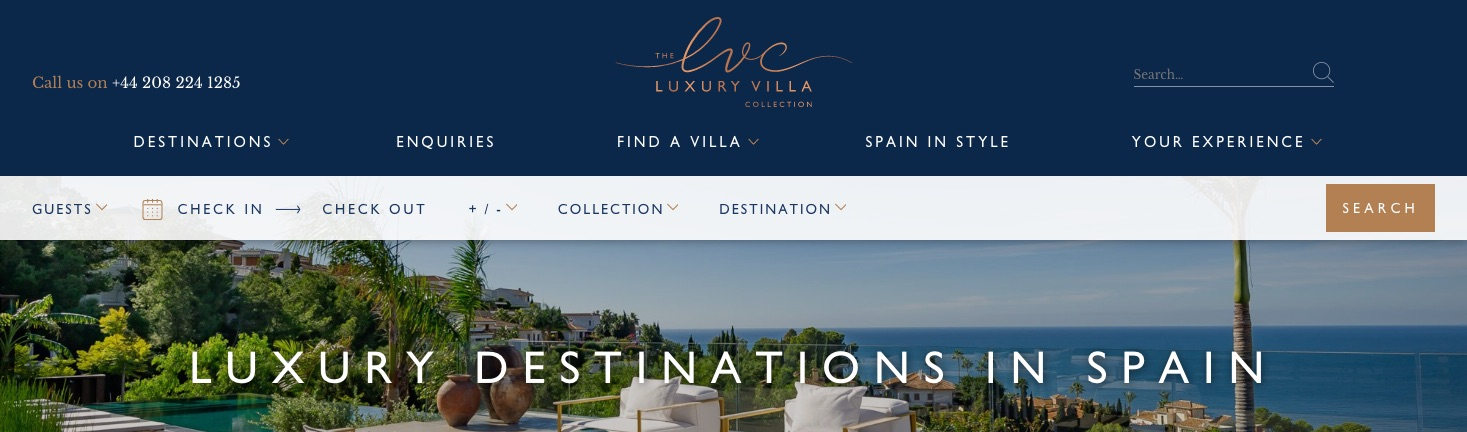 The Luxury Villa Collection